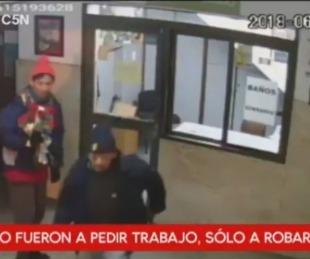 foto: Un joven robó la limosna de la iglesia de San Cayetano