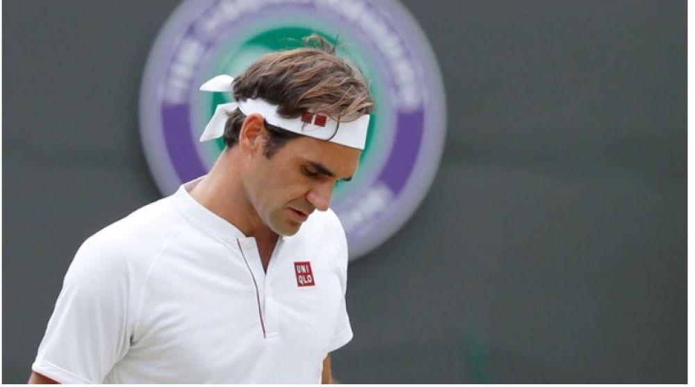 foto: Sorpresiva eliminación de Roger Federer en Wimbledon