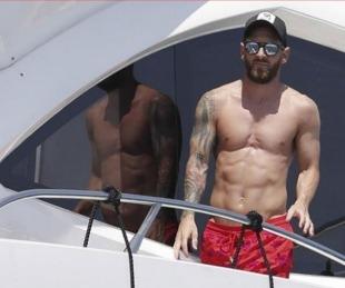 foto: Tras el Mundial Rusia 2018, Lionel Messi reapareció en Ibiza