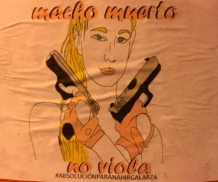 foto: Polémica en Salta por afiches en apoyo a Nahir Galarza
