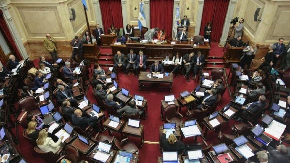 foto: El Senado debate con tendencia casi irreversible por el rechazo