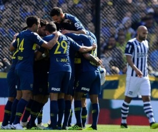foto: Boca venció a Talleres en el inicio de la Superliga 2018/19