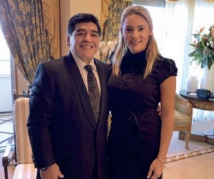 foto: ¿Se viene la dupla técnica Maradona - Rocío Oliva?