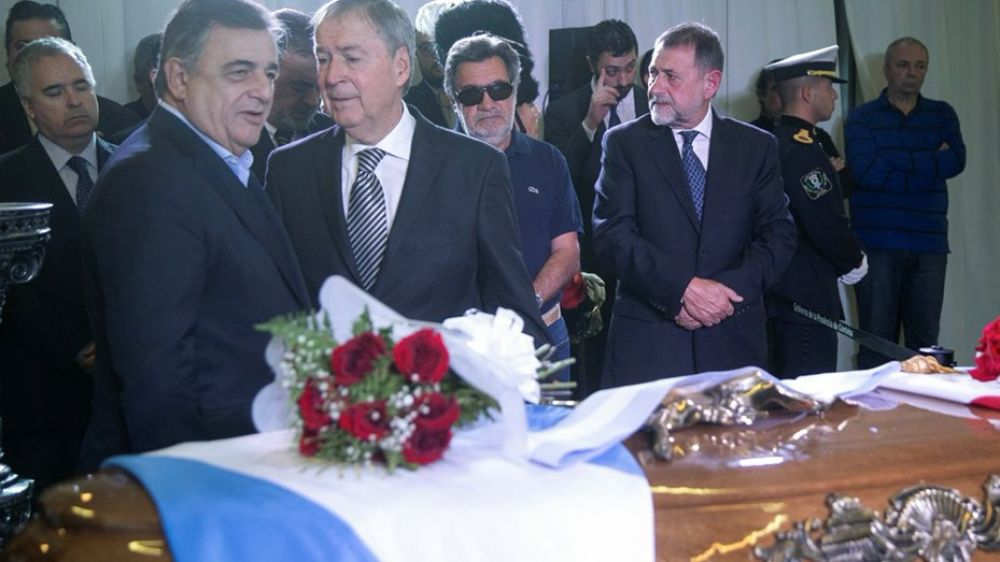 foto: Córdoba: Emotiva despedida al exgobernador De la Sota