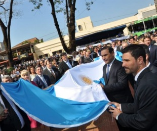 foto: Valdés anunció fuertes inversiones en el 92º aniversario de Virasoro