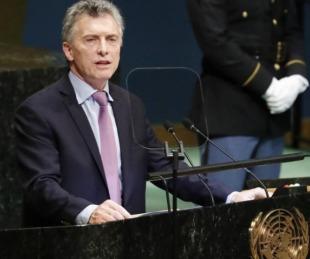 foto: Macri apuntó contra Venezuela e Irán y condenó el terrorismo