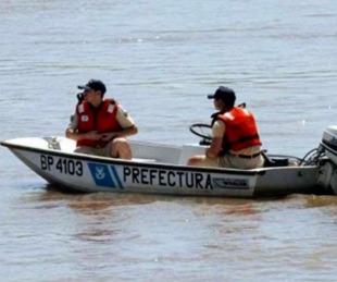 foto: Buscan intensamente a un hombre que se ahogó en el Río Paraná