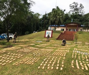 foto: Prefectura interceptó un cargamento de 1800 kilos de marihuana