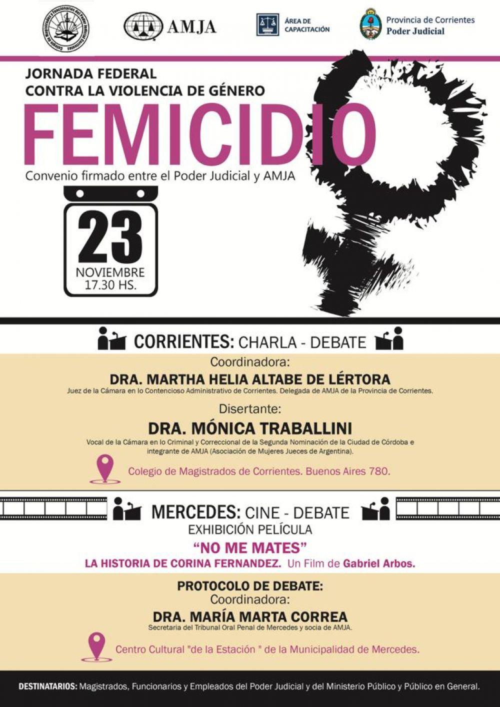 foto: AMJA invita a la Jornada Federal contra la Violencia de Género