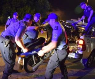 foto: Operativo en las Mil Viviendas dejó 50 personas demoradas