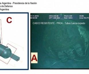 foto: Ocean Infinity sacó 67.000 fotos del submarino ARA San Juan