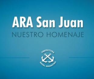 foto: Emotivo homenaje de Prefectura a los tripulantes del ARA San Juan