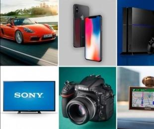 foto: Remate: celulares de alta gama, cámaras de fotos, hasta un Porsche