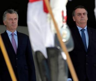 foto: Macri y Bolsonaro repudiaron a