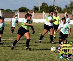foto: Mundialito de Fútbol Femenino continúa convocando a las familias