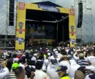 foto: El discurso que hizo llorar a la multitud en el Venezuela Aid Live
