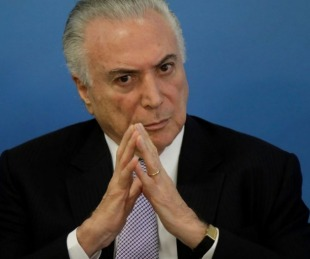 foto: Detuvieron al ex presidente Michel Temer por el caso Lava Jato