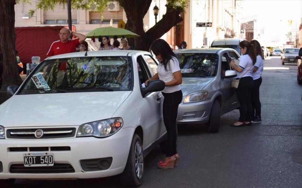 foto: Remiseros indican que la parada de San Juan y Junín no es negociable