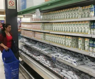 foto: La leche en Palma de Mallorca es más barata que en la Argentina