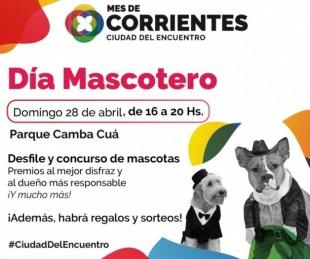 foto: Se realizará el Día del Mascotero para celebrar el Mes de Corrientes
