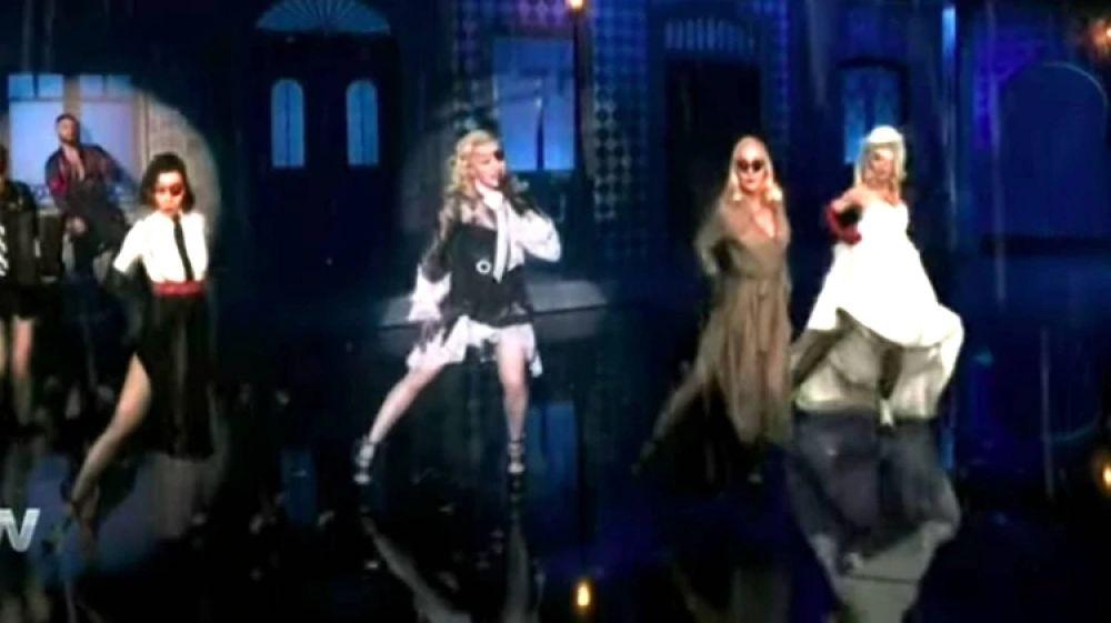foto: El show de Madonna y Maluma que costó USD 5 millones