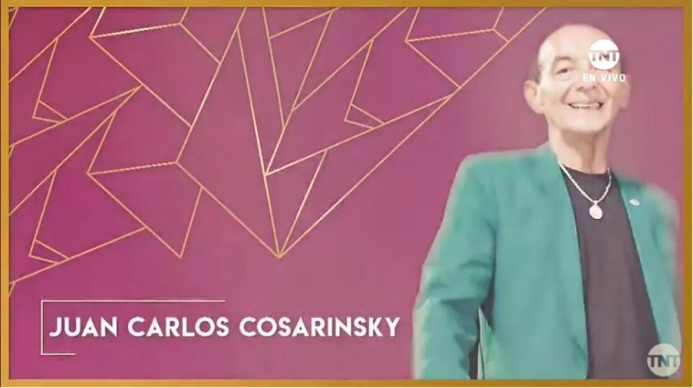 foto: El Flaco Cosarinsky fue homenajeado en los premios Gardel