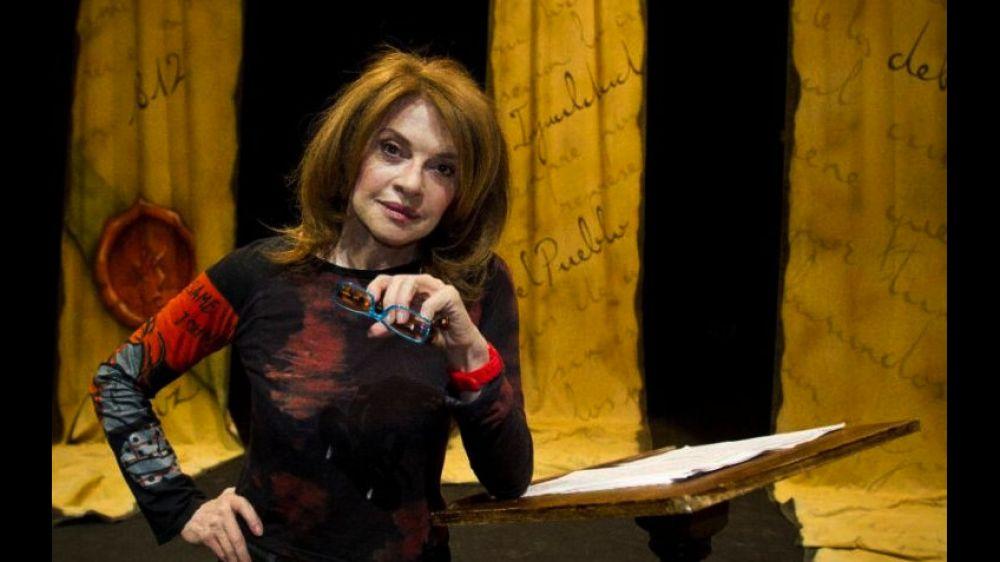 foto:  Función de Gala el sábado 25 de mayo: Leonor Benedetto en Goya