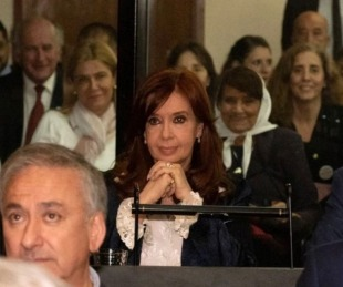 foto: Terminó la primera audiencia del juicio a Cristina Kirchner