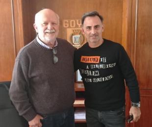 foto: Osella recibió la visita del ex futbolista diego Latorre