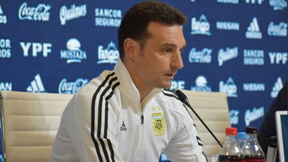 foto: Scaloni confirmó el equipo para el debut en la Copa América