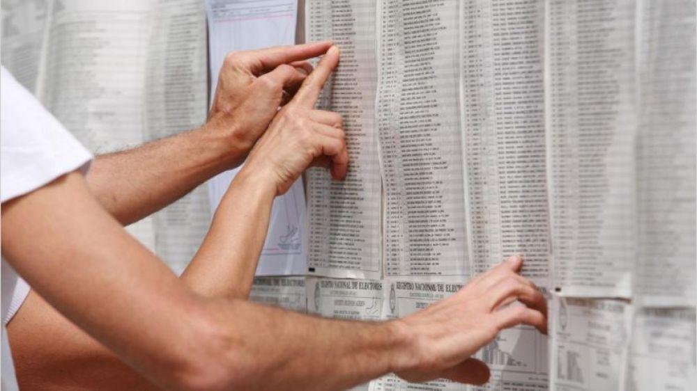 foto: Padrón: Prorrogan el plazo para incorporar electores que no figuren
