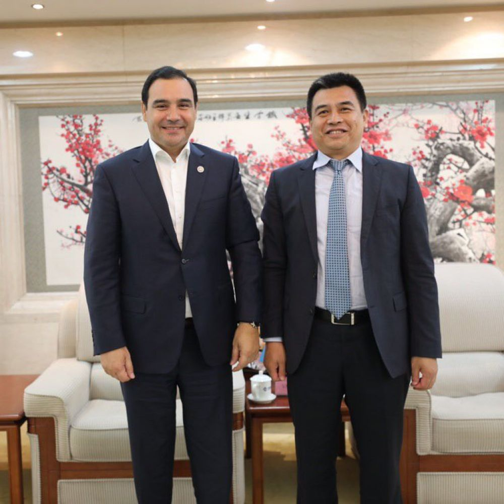 foto: Gustavo Valdés culminó extensa y exitosa misión en China