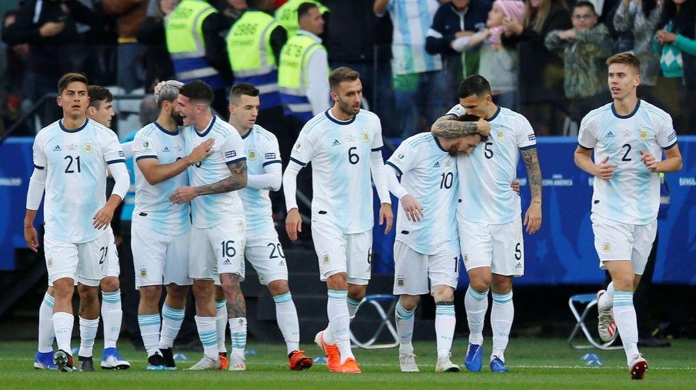 foto: Argentina venció a Chile y quedó tercero en la Copa América