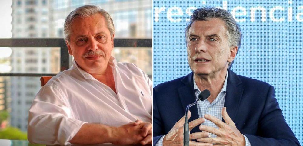 foto: Encuesta da una ventaja de 12 puntos de Fernández sobre Macri