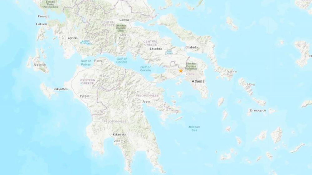 foto: Un terremoto de 5,3 grados a 20 kilómetros de Atenas generó pánico
