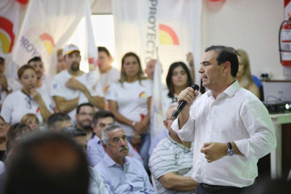 foto: Valdés reunió a todo el arco político que integra la alianza ECO
