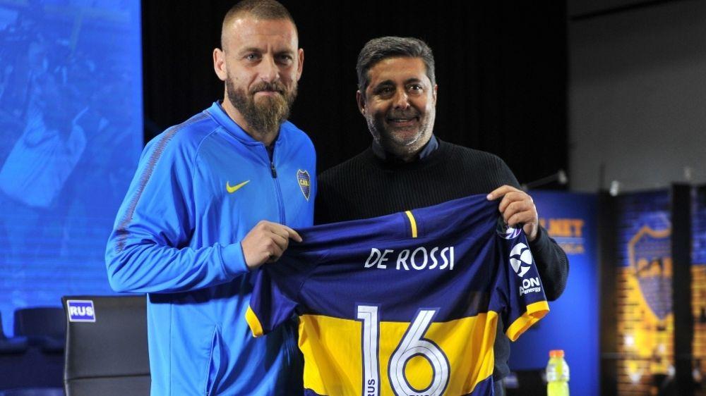 foto: Boca, con el debut del italiano De Rossi, se enfreta ante Almagro