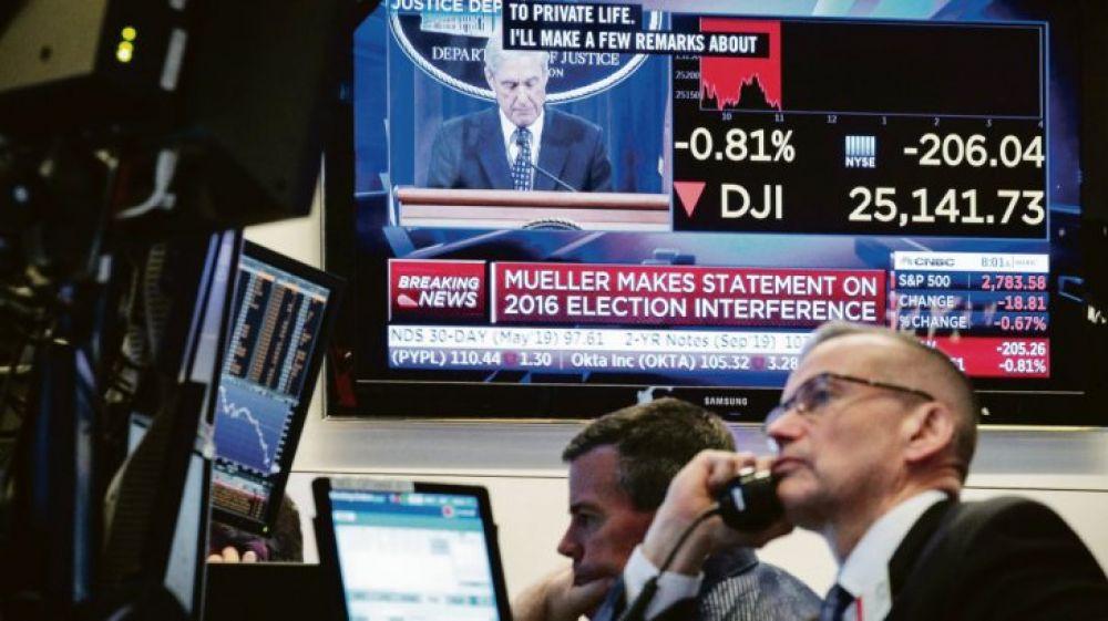 Acciones de empresas argentinas pierden hasta casi 15% en Wall Street