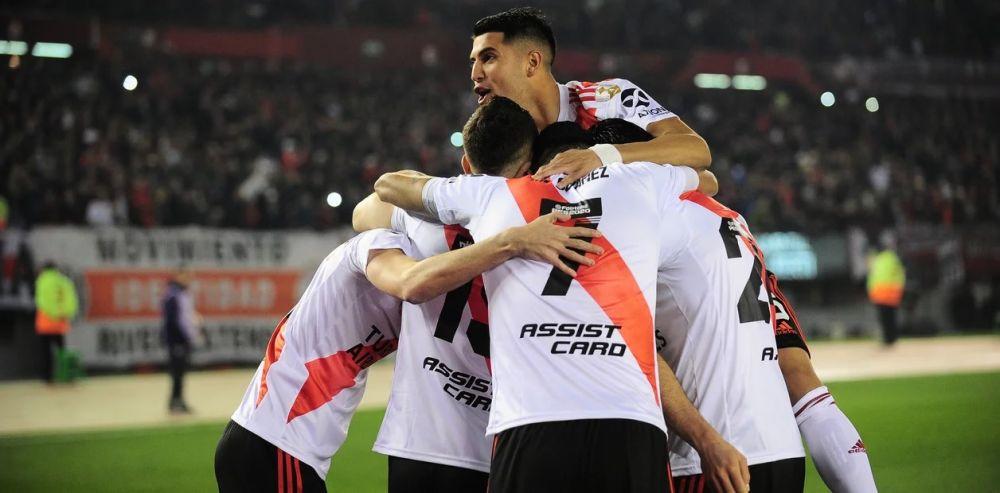 foto: River le ganó a Cerro Porteño y el Superclásico quedó más cerca