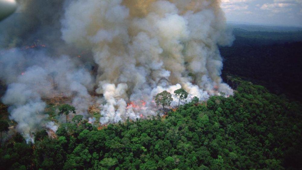 foto: Prevén que a mitad de semana el humo llegará al centro del país