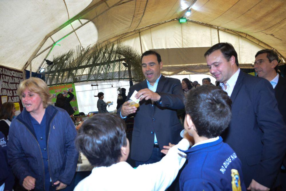 foto: Valdés encabezó la Fiesta Provincial del Agricultor y anunció obras