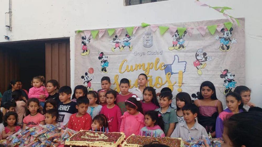 foto: Cumple sueños sacó sonrisas a muchos niños el fin de semana
