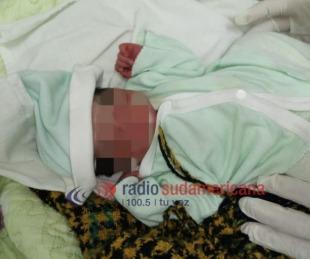 foto: San Luis del Palmar: encontraron a un recién nacido abandonado