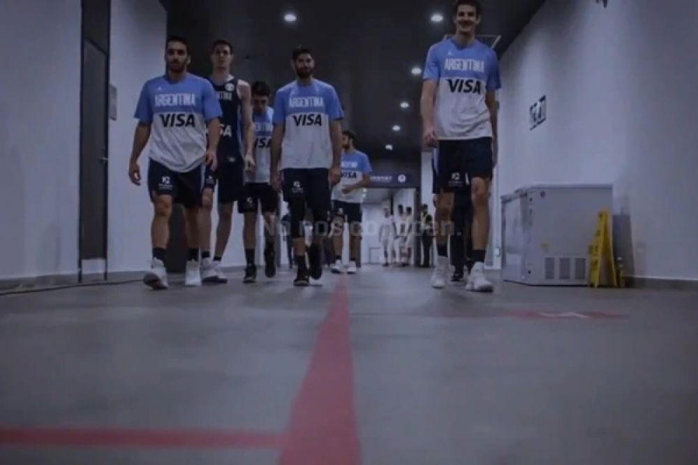 foto: El video motivacional que vio la Selección antes del partido
