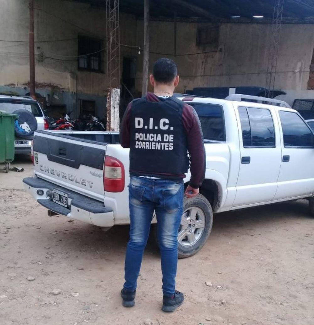 foto: Secuestraron una camioneta vinculada con una estafa