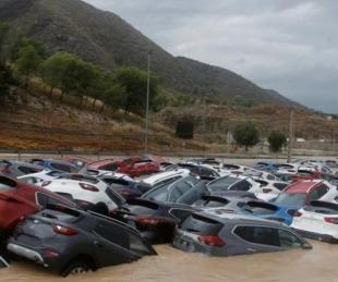 foto: España: Evacuaron a unas 1.700 personas por inundaciones