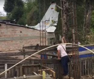 foto: Una avioneta cayó en Colombia y hay al menos siete muertos