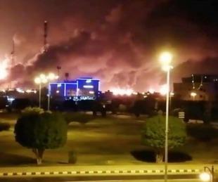 foto: Alerta por ataque a dos plantas petroleras en Arabia Saudita