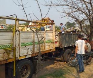 foto: Decomisan carga de frutas sin documentación que avale su estado
