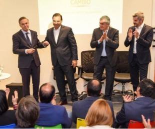 foto: Valdés se reunió con funcionarios nacionales y pidió